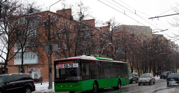 В среду троллейбус №27 изменит маршрут движения