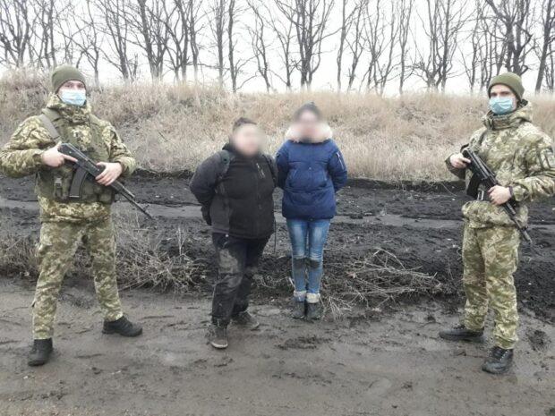 В Харьковской области две наркоторговки из России пытались нелегально перейти границу