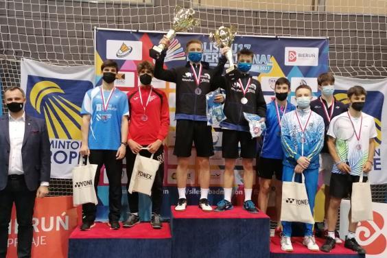 Харьковские бадминтонисты завоевали медали на соревнованиях в Польше