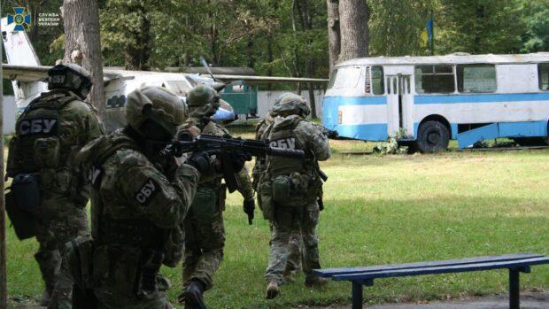 СБУ начинает масштабные антитеррористические учения в Харьковской области