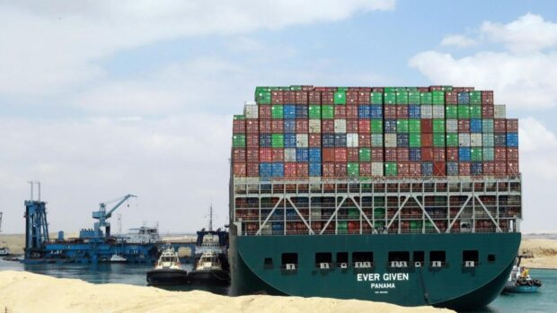 Блокировка Суэцкого канала и его влияние на деятельность Евротерминала
