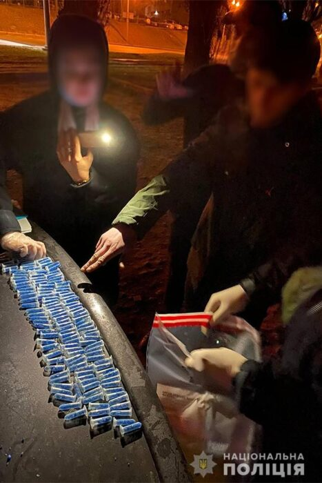 В Харькове заблокировали Интернет-магазин по продаже наркотиков и задержали одессита, который делал «закладки»