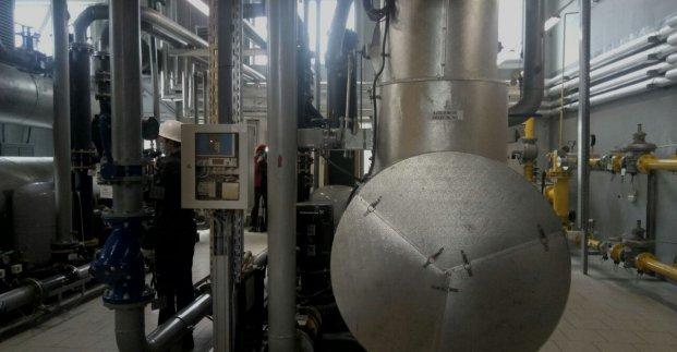 На Салтовской котельной открыли первую в Харькове станцию для производства электроэнергии
