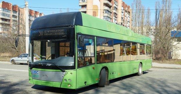 На Пятихатки начали ходить троллейбусы с автономным ходом