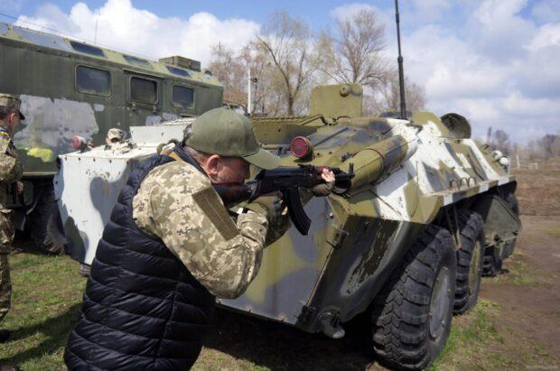 К майским сборам теробороны Харьковщины планируют привлечь около 2000 военнообязанных и резервистов