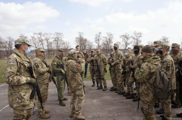Ветераны АТО/ООС присоединились к занятиям по территориальной обороне на Харьковщине
