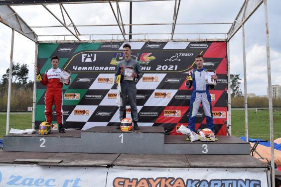 Харьковские картингисты получили абсолютную победу на втором этапе чемпионата Украины