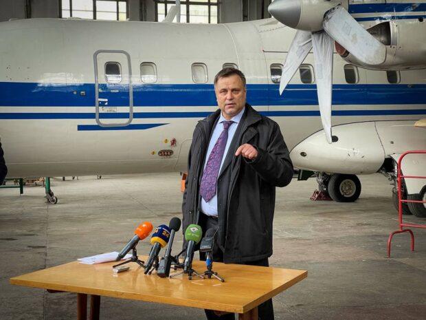 В Харькове представили нового руководителя авиазавода