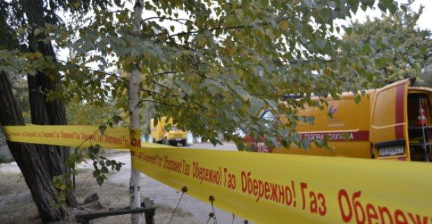 На Салтовке проводят работы по ликвидации утечки газа