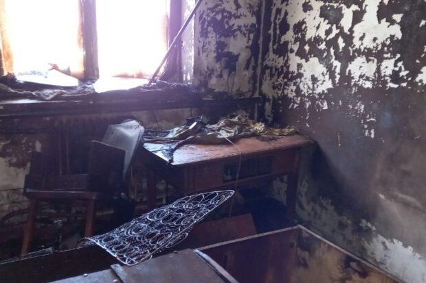 На Харьковщине из-за неосторожного обращения с огнем погиб мужчина