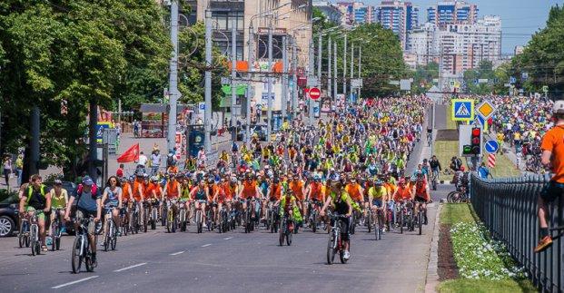 В центре Харькова запрещается движение транспорта