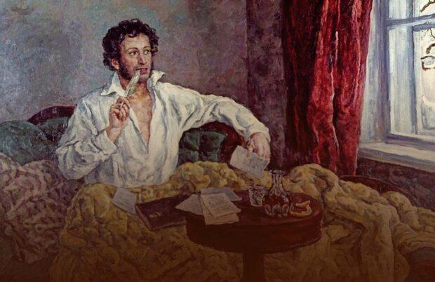 Писатель А.С. Пушкин