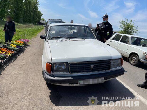 В Харькове водитель сбил ребенка и попытался скрыться с места аварии