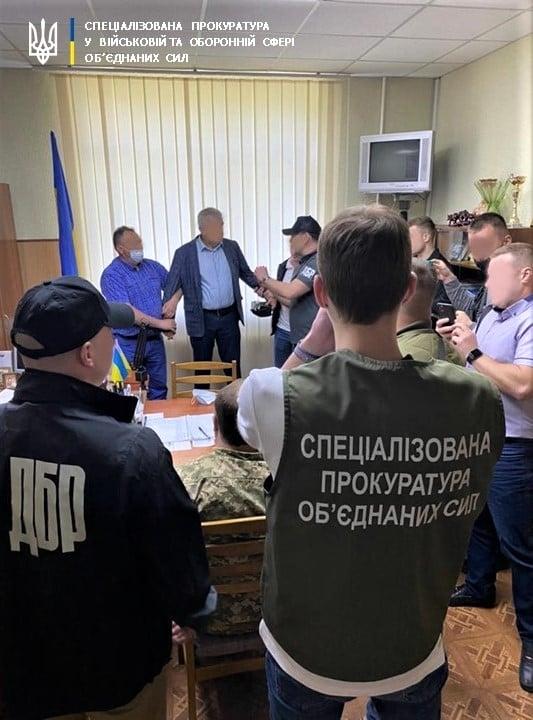 В Харьковской области на взятке задержали военного комиссара