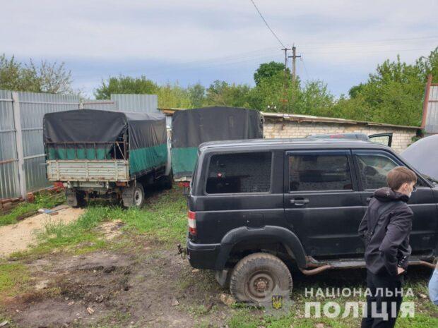На Харьковщине разоблачили группу людей, которые незаконно ввозили с РФ автомобили