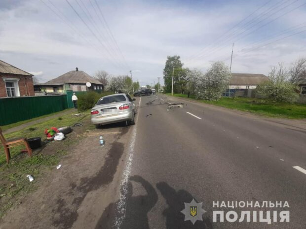 В результате столкновения автомобилей на Харьковщине пострадал ребенок
