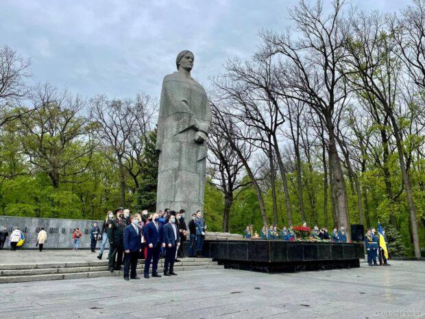 На Харьковщине почтили память погибших во Второй мировой войне