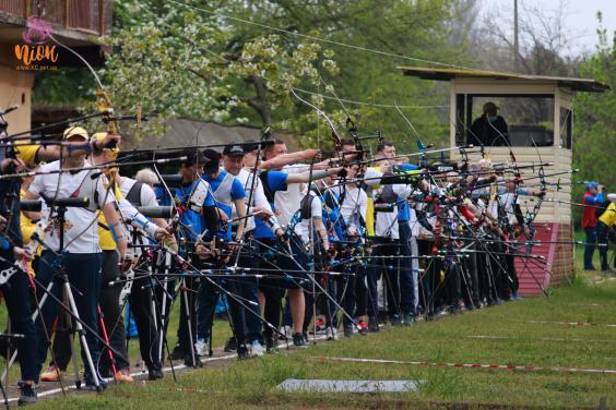 Харьковчане стали призерами чемпионата Украины по стрельбе из лука