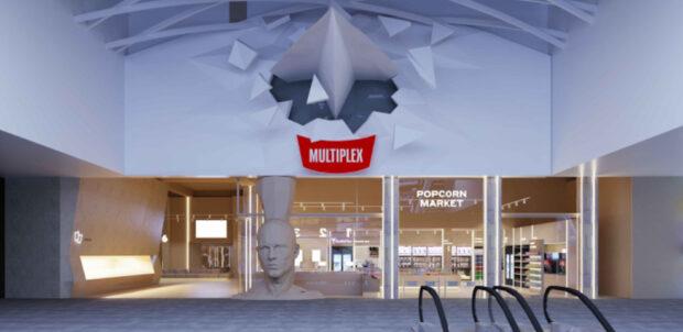 Multiplex открывает самый большой кинотеатр в Харькове