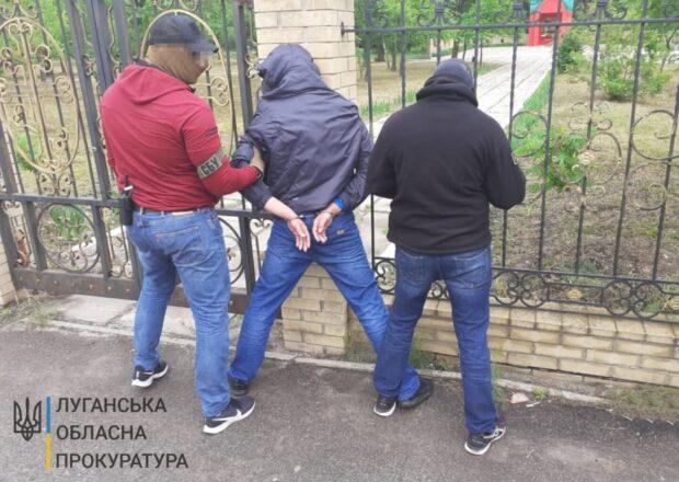 В Луганской области задержали террориста, который намеревался подорвать авто директора научного института Харькова