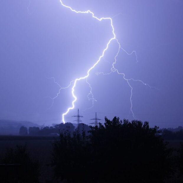 В Харьковской области мужчину убило молнией
