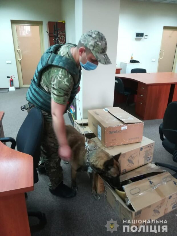 В центре Харькова в бизнес-центре искали бомбу