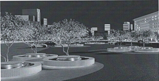 Съемные клумбы с деревьями на площади Свободы будут стоить более 10 млн гривен - ХАЦ