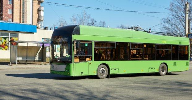 Троллейбус №50 с завтрашнего дня будет курсировать по новому маршруту