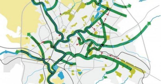 Парковые зоны Харькова планируют объединить в одну сеть