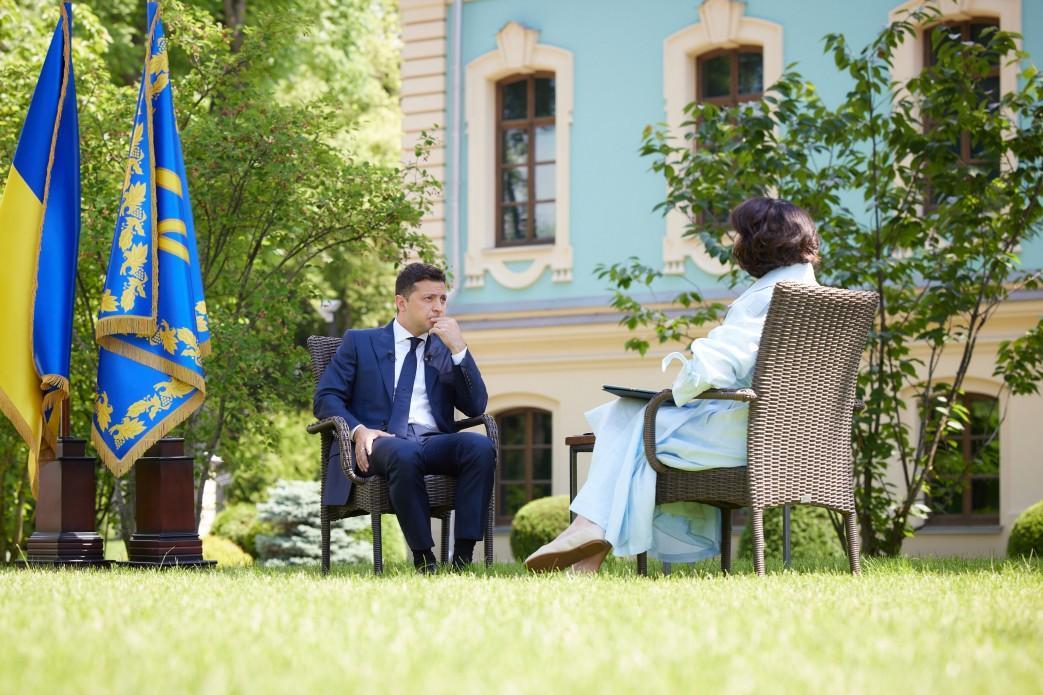 «Я считаю, что это решение местное»: Зеленский о проспекте Жукова в Харькове (видео)