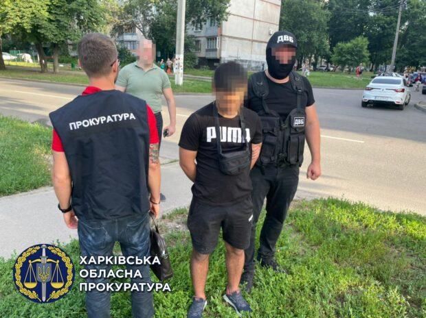 """В Харькове задержали сержанта полиции, который путем """"закладок"""" продавал мефедрон"""