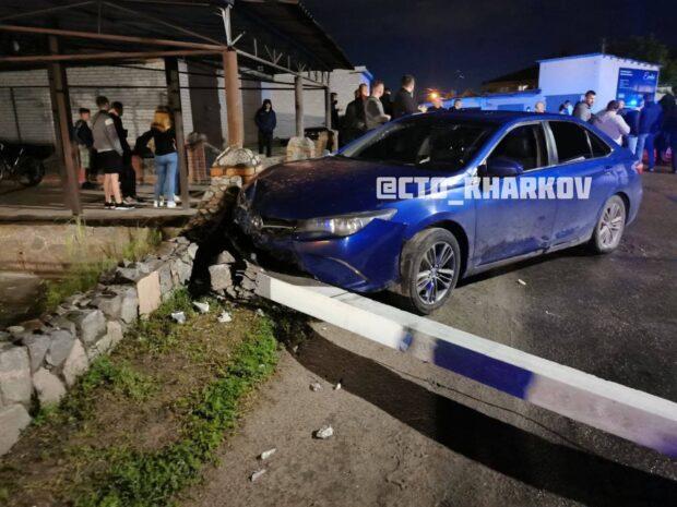 Под Харьковом произошел конфликт между пьяным виновником ДТП и журналистом