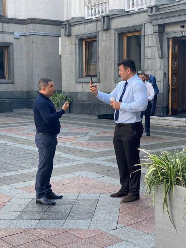 Харьковский мажоритарщик подрался с Николаем Тищенко