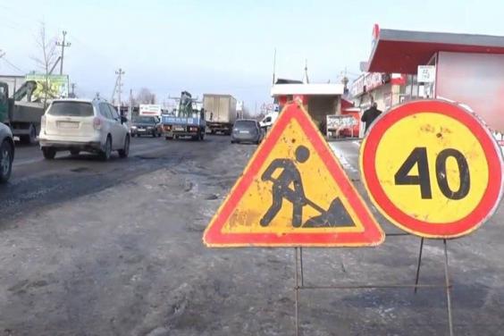 В пределах поселка Безлюдовка отремонтируют участок дороги