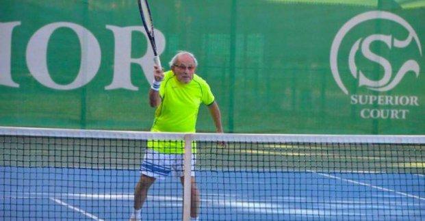 97-летний харьковчанин получит награду самого сильного теннисиста планеты