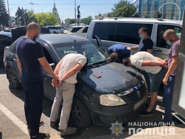 В центре Харькова задержали квартирных воров