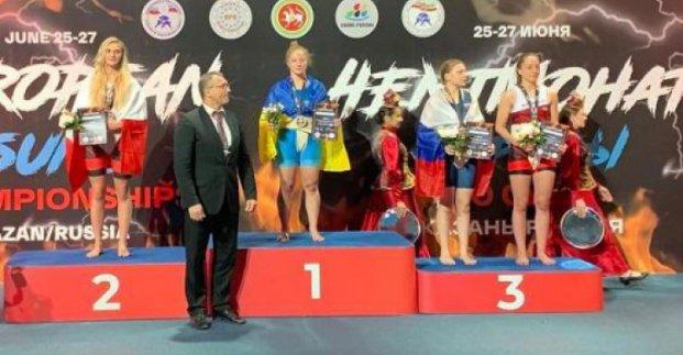 Харьковчане стали чемпионами Европы по сумо