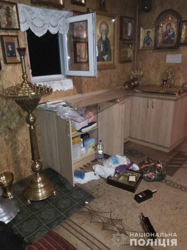 В Харькове мужчина обокрал храм