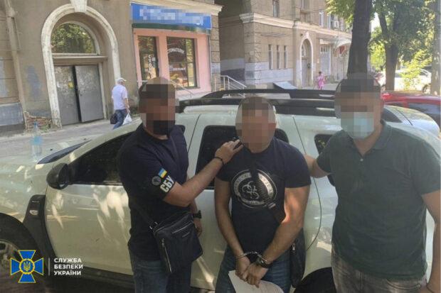 На Харьковщине СБУ разоблачила пограничника на взятке