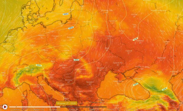 На Харьковщину возвращается жара