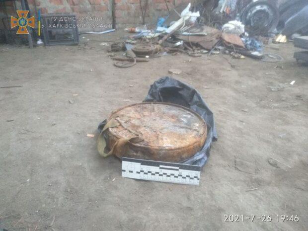 В Харькове в пункт приема металлолома принесли противотанковую мину