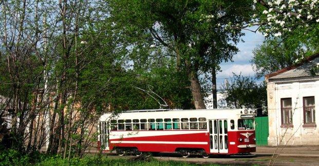 В субботу по маршруту трамвая №12 будет ездить ретро-вагон