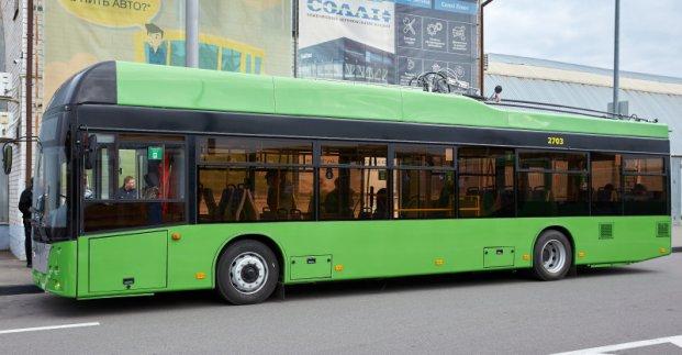 В Харькове вводятся новые троллейбусные маршруты на Рогань