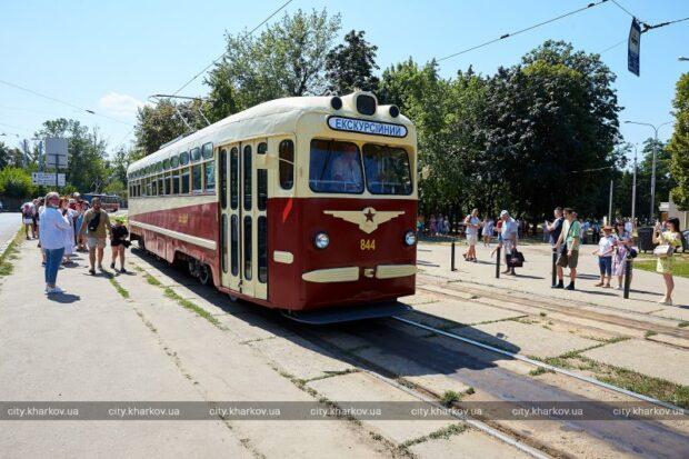 В Харькове отметили 115-летие запуска первой трамвайной линии
