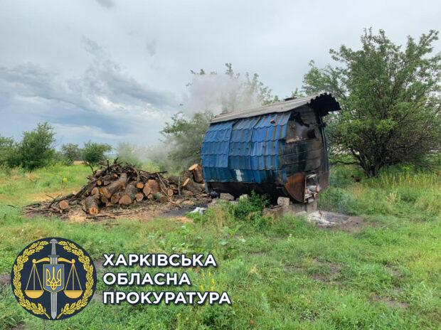 В Харьковской области незаконно изготавливали древесный уголь: открыто уголовное дело