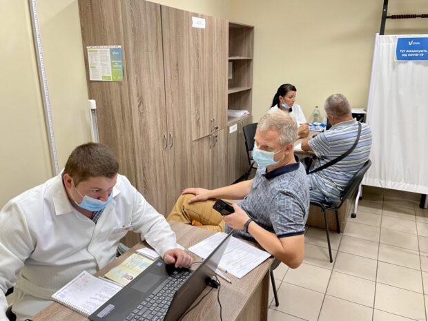 Где на Харьковщине работают центры массовой вакцинации против COVID-19