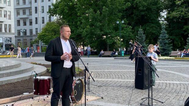 """Представитель """"Нацкорпуса"""" будет баллотироваться на пост мэра Харькова"""