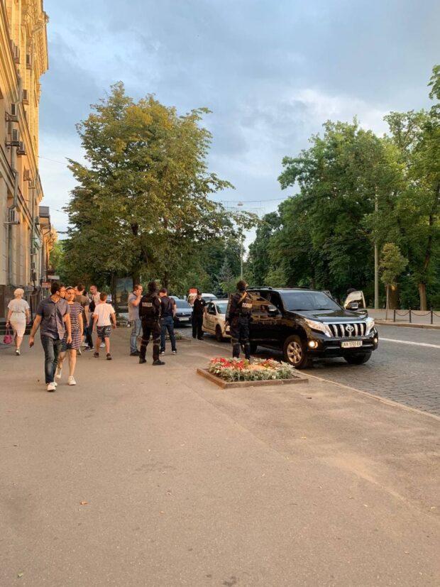 В центре Харькова задержали Олега Ширяева