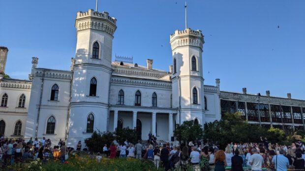 В Шаровке сыграл оркестр Харьковской областной филармонии