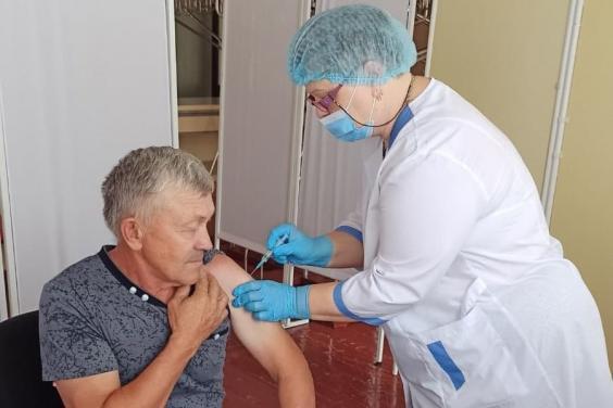 В Волчанске открыли центр массовой вакцинации